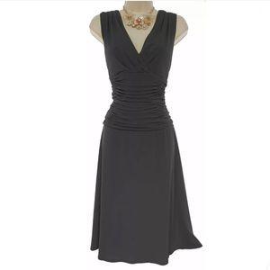 Size 12 NWT▪️SEXY LITTLE BLACK RUCHED WAIST DRESS